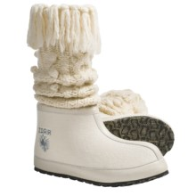 ZDAR Masha High Boots - Wool Felt (For Women) in Cream - Closeouts