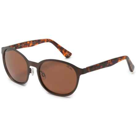 Zeal 6th Street Sunglasses - Polarized (For Women) in Copper/Copper - Polarized - Closeouts