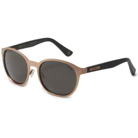 Zeal 6th Street Sunglasses - Polarized (For Women) in Rose Gold/Dark Grey - Polarized - Closeouts