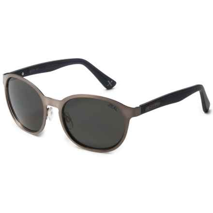 Zeal 6th Street Sunglasses - Polarized (For Women) in Stainless/Dark Grey - Polarized - Closeouts