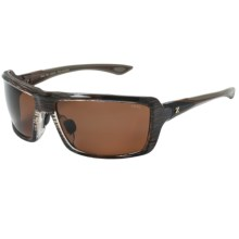 Zeal All In Sunglasses - Polarized in Copper/Brown Gloss - Closeouts