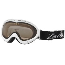 Zeal Aspect Classic Snowsport Goggles - Polarized, Photochromic Lens (For Women) in Shiney White - Closeouts