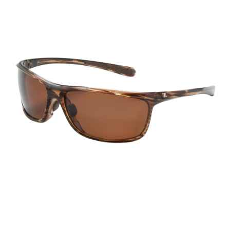 Zeal Backyard Sunglasses - Polarized in Wood Grain/Copper - Closeouts