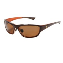 Zeal Boundary Sunglasses - Polarized in Brown Orange Gloss/Copper - Closeouts