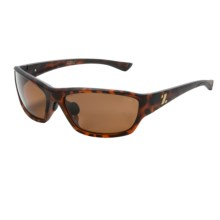 Zeal Boundary Sunglasses - Polarized in Matte Tortoise/Copper - Closeouts