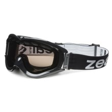 Zeal Detonator Snowsport Goggles - Polarized in Black/Zb-13 - Closeouts
