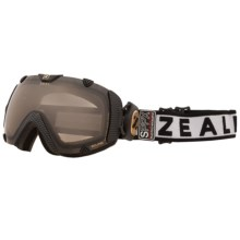 Zeal Eclipse Classic SPPX Snowsport Goggle - Polarized, Photochromic Lens in Carbon Matte Black - Closeouts