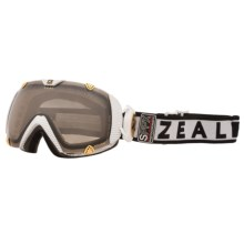 Zeal Eclipse Classic SPPX Snowsport Goggle - Polarized, Photochromic Lens in Carbon Matte White - Closeouts