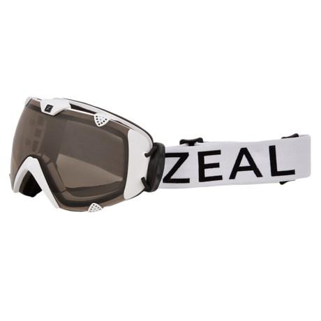 Zeal Eclipse Ski Goggles - Polarized