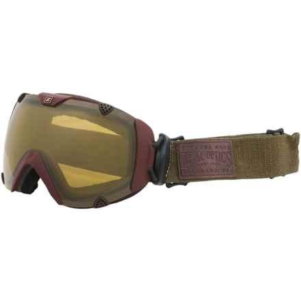 Zeal Eclipse Ski Goggles - Polarized, Photochromic Lens in Saddleback/Automatic Plus - Overstock