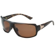 Zeal Epic Sunglasses - Polarized in Copper/Matte Wood Grain - Closeouts