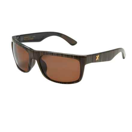 Zeal Essential Sunglasses - Polarized in Wood Grain/Copper - Closeouts