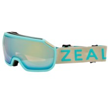 Zeal Fargo Ski Goggles - Mirrored Lens in Trillium Blue/Optimum Alchemy Mirror - Closeouts