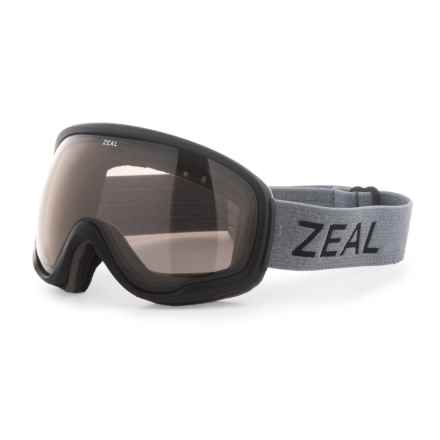 Zeal Forecast Ski Goggles - Polarized in Greybird/Automatic + Gb - Overstock