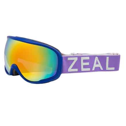 Zeal Forecast Ski Goggles - Polarized in Pennyroyal/Phoenix - Closeouts