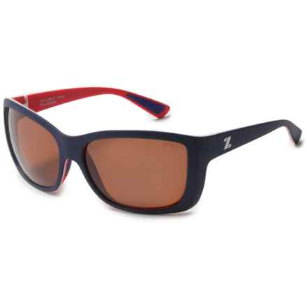 Zeal Idyllwild Sunglasses - Polarized (For Women) in Nautical Navy/Copper - Polarized - Closeouts
