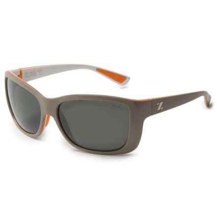 Zeal Idyllwild Sunglasses - Polarized (For Women) in Powedered Peach/Dark Grey - Polar - Closeouts