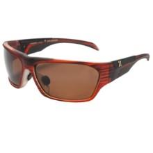 Zeal Insomnia Sunglasses - Polarized in Copper/Matte Rust Wood Grain - Closeouts