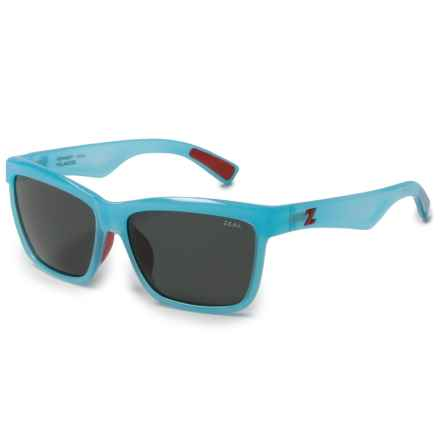 Zeal Kennedy Reflection Sunglasses - Polarized (For Women) in Reflection Blue/Dark Grey - Polarized - Closeouts