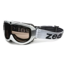 Zeal Link Snowsport Goggles - Polarized in White/Zb-13 - Closeouts