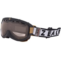 Zeal Link SPPX Snowsport Goggles - Polarized, Photochromic Lens in Carbon Matte Black