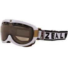 Zeal Link SPPX Snowsport Goggles - Polarized, Photochromic Lens in Carbon Matte White - Closeouts
