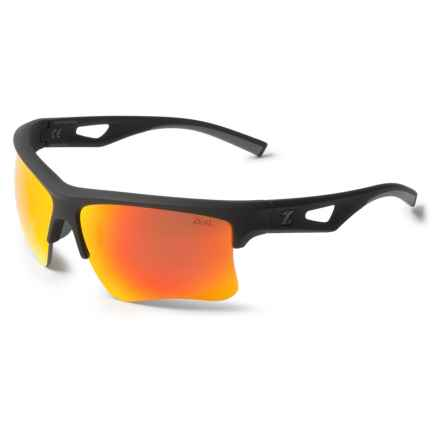 Zeal Optics Cota Team Edition Sunglasses - Polarized Mirror Lenses in Black/Phoenix Mirror - Closeouts