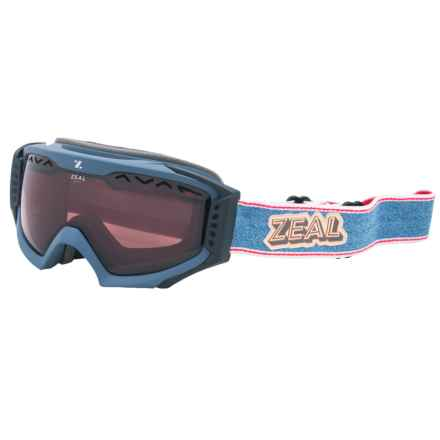 Zeal Outpost Ski Goggles - Polarized in Rucksack Denim - Closeouts