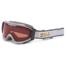 Zeal Outpost Ski Goggles - Polarized in Rucksack Grey - Closeouts