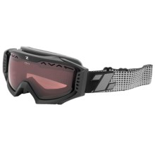 Zeal Outpost Ski Goggles - Polarized in Supply Black - Closeouts