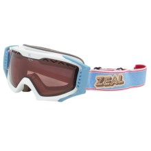Zeal Outpost Snowsport Goggles - Polarized in Rucksack Americana - Closeouts