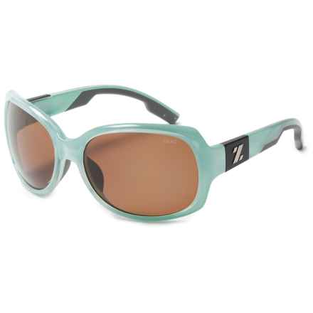 Zeal Penny Lane Sunglasses - Polarized (For Women) in Aqua Green Gloss/Copper - Closeouts