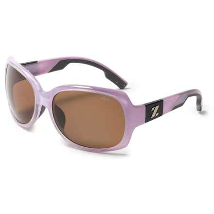 Zeal Penny Lane Sunglasses - Polarized (For Women) in Rose Gloss/Copper - Closeouts