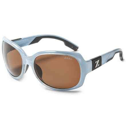 Zeal Penny Lane Sunglasses - Polarized (For Women) in Sky Blue Gloss/Copper - Closeouts
