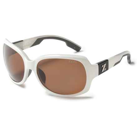 Zeal Penny Lane Sunglasses - Polarized (For Women) in White Gloss/Copper - Closeouts