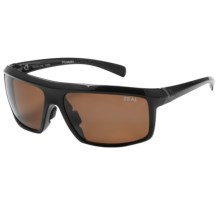 Zeal Ridgeline Sunglasses - Polarized in Copper/Black Gloss - Closeouts