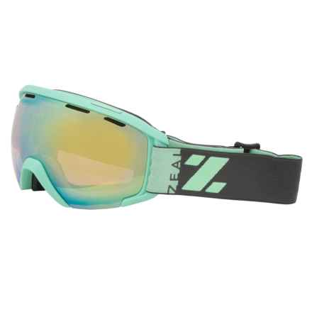 Zeal Slate Snowsport Goggles in Alchemy Mirror/Wrigley - Closeouts