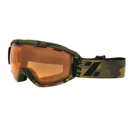 Zeal Slate Snowsport Goggles in Geronimo/Copper - Closeouts