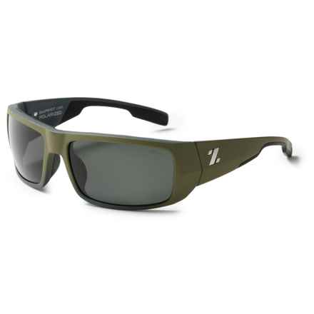 Zeal Snapshot Sunglasses in Faded Fatigue/Dark Grey - Closeouts
