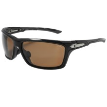 Zeal Takeoff Sunglasses - Polarized in Copper/Black Gloss - Closeouts