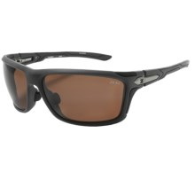 Zeal Takeoff Sunglasses - Polarized in Copper/Matte Grey - Closeouts