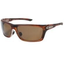 Zeal Takeoff Sunglasses - Polarized in Copper/Matte Rust Wood Grain - Closeouts