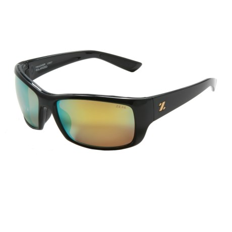 Zeal Tracker Sunglasses Polarized, Mirrored Lenses