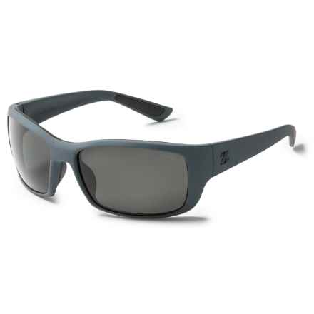 Zeal Tracker Sunglasses - Polarized, Mirrored Lenses in Primer/Dark Grey - Closeouts