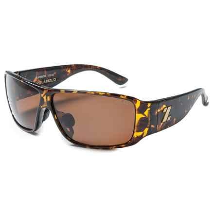 Zeal Upside Sunglasses - Polarized in Demi Tortoise/Copper - Closeouts