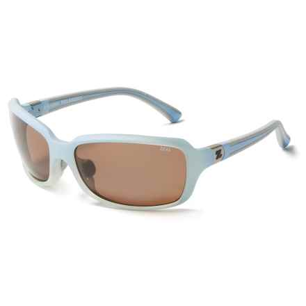Zeal Zeta Sunglasses - Polarized in Sky Blue - Closeouts