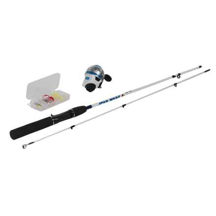 "Zebco Star Wars Spincast Combo Kit with Tackle Box - 5'6"" in See Photo - Closeouts"