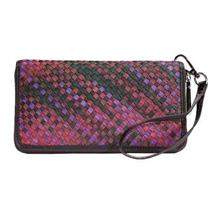 Zee Alexis Cayman Wallet (For Women) in Forest Multi - Closeouts