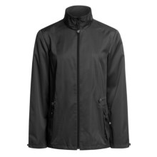 Zen 101 Drawstring Jacket (For Women) in Black