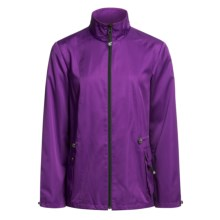 Zen 101 Drawstring Jacket (For Women) in Purple